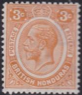 British  Honduras        .   SG  .   129     .   *     .    Mint-hinged     .   /    .   Ongebruikt - Brits-Honduras (...-1970)