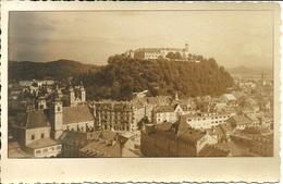 Ljubljana, Lubiana (Slovenia, Ex Jugoslavia) Panorama E Castello, General View And The Castle, Vue Generale Et Chateau - Slovenia