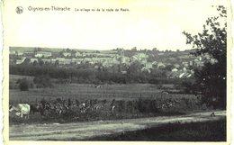 OIGNIES_EN _ THIéRACHE   Le Village Vu De La Route De Revin. - Gedinne