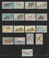 CAMEROUN  ( AFCA - 213 )  1962  N° YVERT ET TELLIER   N° 339/353   N** - Cameroun (1960-...)