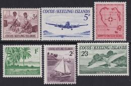 Cocoas Islands         .   SG  .   1/6      .   *     .    Mint-hinged     .   /    .   Ongebruikt - Cocoseilanden