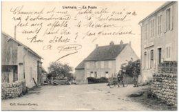 21 LIERNAIS - La Poste - Autres Communes