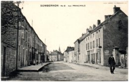 21 SOMBERNON - Rue Principale - Autres Communes