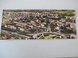 Cpa Photo Panoramique Aérienne De La Ville Quartier Petit Vichy & Lycee Lapérine - SIDI BEL ABBES ORAN - 9 Cms X 22 Cms - Scènes & Types