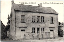 21 THOREY-sur-CHARNY - Mairie Et école Des Garçons - Autres Communes