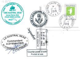 12947  PAP - MARION DUFRESNE - CROZET - MD 217 - Carte Postale - Terres Australes Et Antarctiques Françaises (TAAF)