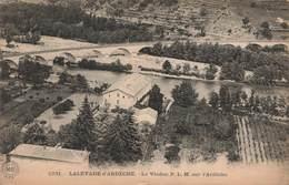 07 Lalevade D' Ardeche Le Viaduc P.L.M. SUR L4 ARDECHE - France