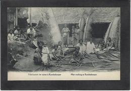 CPA Inde India Kumbakonam Non Circulé Métier Osier Nattes - Inde