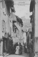 Aurillac.  Vieilles  Maisons Rue St-Jacques.   Scan - France