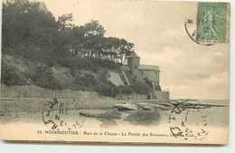 DEP 85 ILE DE NOIRMOUTIER BOIS DE LA CHAIZE LA POINTE DES SOUZEAUX - Ile De Noirmoutier
