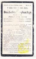 DP Desiderius J. Joye ° Varsenare Jabbeke 1840 † Torhout 1917 X Anna Th. Averein - Images Religieuses