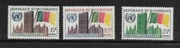 CAMEROUN  ( AFCA - 221 )  1961  N° YVERT ET TELLIER   N° 317/319   N** - Cameroun (1960-...)