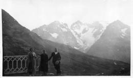 PHOTO ORIGINALE  LA MEIGE VU DU COL DU LAUTARET 1934 - Places