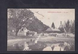 Vente Immediate Fontaine Les Dijon (21) La Mare ( Animée Attelage Ed. Aubert) - Autres Communes