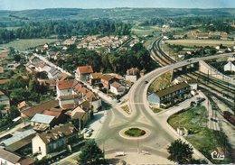 """LES LAUMES """"vue Sur Le Rond Point"""" - Autres Communes"""