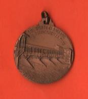 Alpini Medaglia  Bassano 1948 Adunata Nazionale  Ponte Alpini Ricostruito - Professionals/Firms