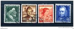 Suisse  :  Yv  371-74  (o) - Pro Juventute