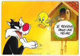 Plaque De Porte:  TITI Et GROSMINET. (Système) Warner Bros. Ed. Du Tonnerre 1993 - Bücher, Zeitschriften, Comics