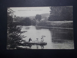 Carte Postale  - SAINTE AULDE (77) - Au Bord De La Marne (1759/1000) - France