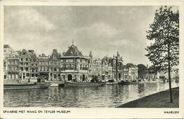 AK Haarlem Spaarne Met Waag En Teyler Museum 1953 #05 - Haarlem