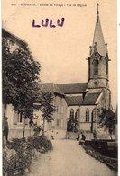 DEPT 68 : édit. Chadourne Belfort N° 915 : Roderen Entrée Du Village Vue De L église - Sonstige Gemeinden