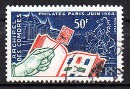 Col 14 /  Comores  N° 32 Oblitéré  Cote   5,00 € - Komoren (1950-1975)