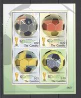 P360 2006 GAMBIA SPORT FIFA FOOTBALL WORLD CUP GERMANY 1KB MNH - Fußball-Weltmeisterschaft