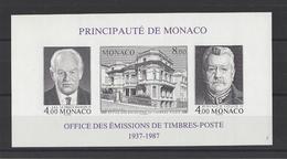 MONACO. YT  Bloc N° 39  ND   Neuf **  1987 - Blocks & Kleinbögen