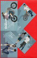 Indonesia Postcard 2018, DILAN FAMOUS MOVIE Set Mint - Indonesia