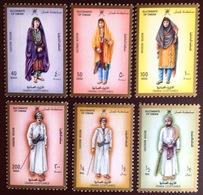 Oman 1989 Costumes 6 Values MNH - Oman