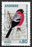 ANDORRE  1974 -  YT 241 -  Protection De La Nature  -  Bouvreuil  - Oblitéré  - - Oblitérés