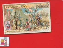CIBILS Anvers Chromo Egypte Louis IX Sultan Rencontre - Chromos