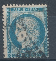 N°37 VARIETE POSITION MARQUER AU VERSO. - 1870 Siege Of Paris
