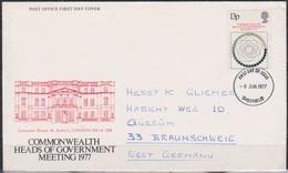 Grossbritannien 1977 MiNr.744 FDC Konferenz Der Commonwealthstaaten( D 4023 )günstige Versandkosten - FDC