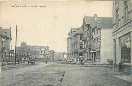 BELGIQUE  COQ SUR MER   Rue De L'église     2scans - De Haan