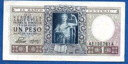 Argentine  - 1 Peso    -- Pick # 260 -  état  TTB - Argentina