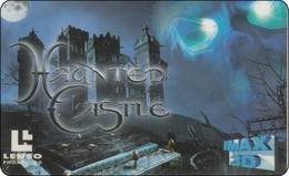 Thailand Domestic Phonecard 100 Baht  Lenso Nr. 012  Movie Haunter Castle Very RAR - Thaïland