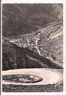 Vue Sur Val D'Isére De La Route Du Col De L'Iseran - Carte Yvon - Cachet De L'hôtel De L'Iseran, P.Rond, Propriétaire - - Val D'Isere