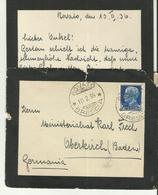 IT CV 1936 +letter - 1900-44 Victor Emmanuel III