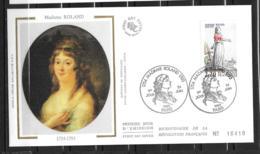 FRANCE- FDC - Madame Roland - Paris - Révolution Française