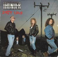 """Thunder  """"  Dirty Love  """" - Vinyles"""