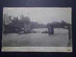 Carte Postale  - LA FERTE SOUS JOUARRE (77) - Pont Que L'on A Fait Sauter - Militaire (1762/1000) - La Ferte Sous Jouarre