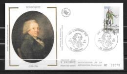 FRANCE- FDC - Condorcet - Ribemont - Révolution Française