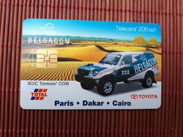 Phonecard Paris-Dakar Rally Used - Belgique