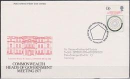 Grossbritannien 1977 MiNr.744 FDC Konferenz Der Commonwealthstaaten( D 2916 )günstige Versandkosten - FDC
