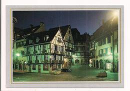 Colmar : La Rue Des Marchands, Vue De Nuit - - Colmar