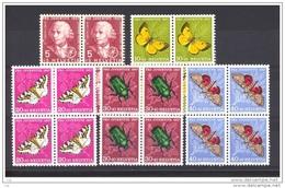 Suisse  -  1957  :  Yv  597-01  **   Blocs De 4 - Pro Juventute