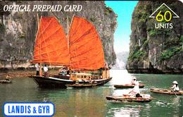 Vietnam - Very Rare Landis&Gyr Demo-card- Only 500 Exempl. - Vietnam