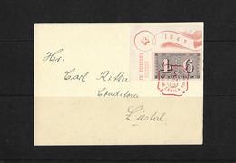 HEIMAT BASELLAND → 1943 Einladung Zur GV Briefmarkenverein Liestal - Storia Postale