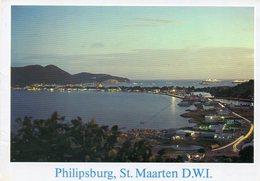 - Philisburg, ST. MAARTEN  D.W.I.  - Scan Verso - - Saint-Martin